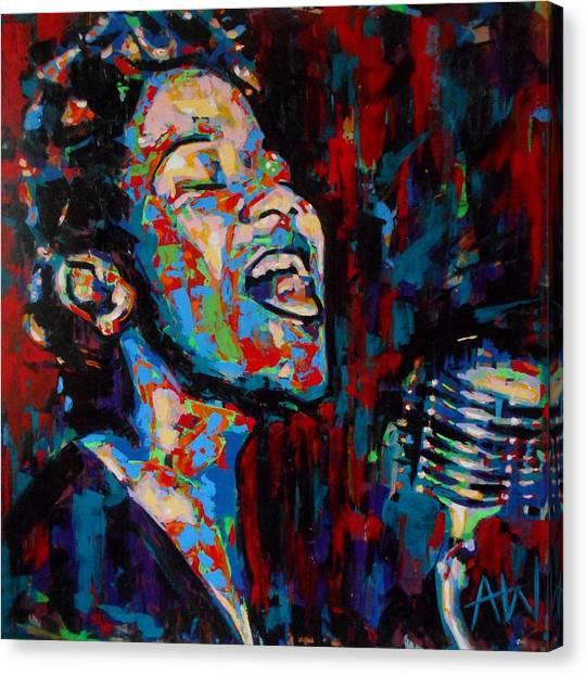 Ella Fitzgerald Canvas Print