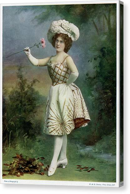 Ella Snyder, Actress In 'the Belle Canvas Print by Mary Evans Picture Library