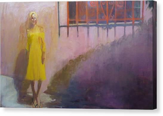 Elle Canvas Print by Galya Tarmu