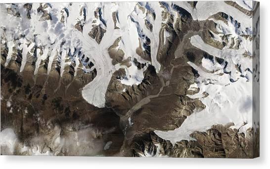 Nunavut Canvas Print - Ellesmere Island by Nasa Earth Observatory
