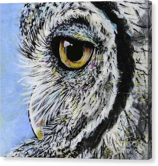 Midnite Canvas Print - Ellie by Lovejoy Creations