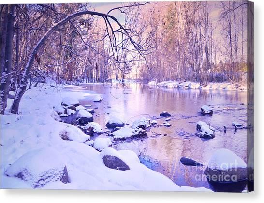 Okanagan Valley Canvas Print - Ellis Creek On A Sunday Morning by Tara Turner