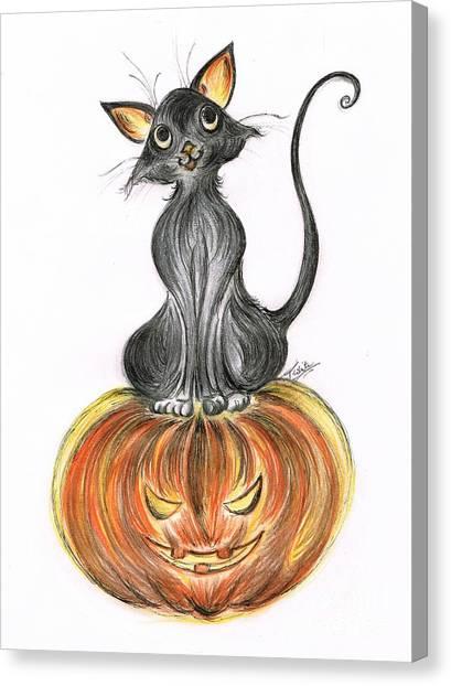Elma's Pumpkin Canvas Print