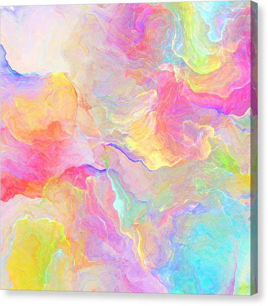 Eloquence - Abstract Art Canvas Print