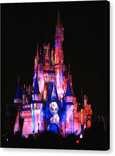 Elsa Queen Of The Castle Canvas Print