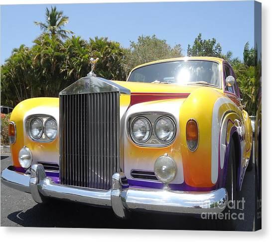 Elton John's Old Rolls Royce Canvas Print