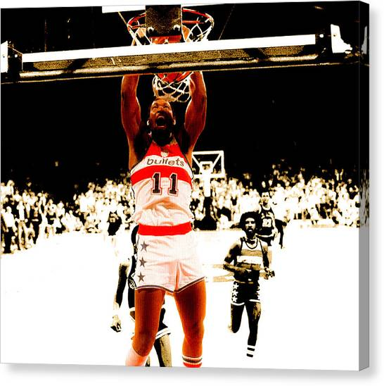 Iota Phi Theta Canvas Print - Elvin Hayes Throwback by Brian Reaves