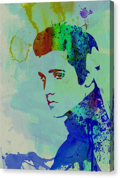 Elvis Canvas Print - Elvis by Naxart Studio