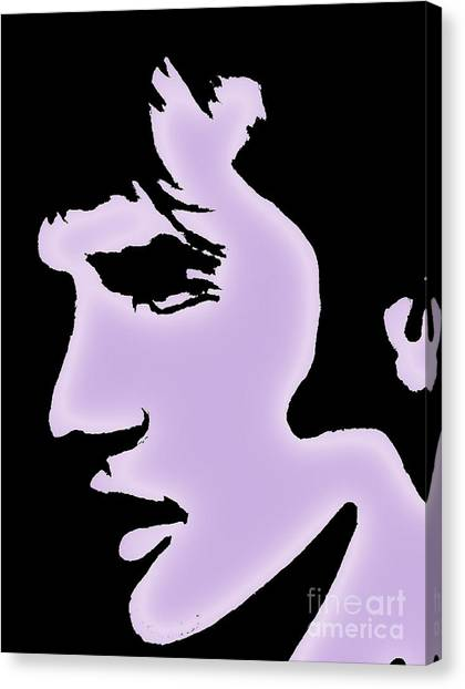 Elvis Pop Art Style Canvas Print