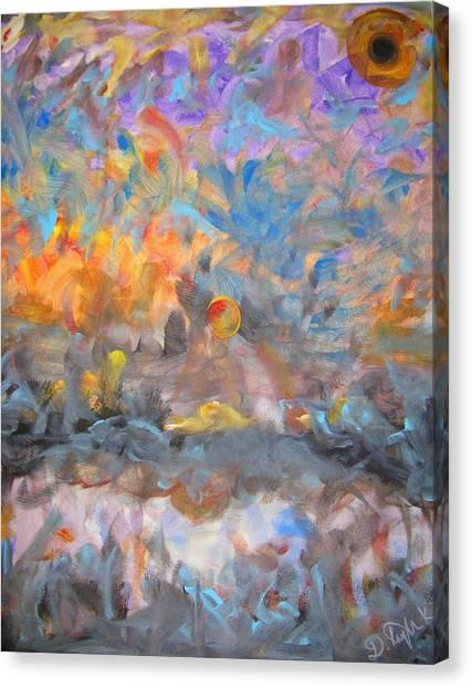 Elysion Fields Canvas Print by Darryl  Kravitz