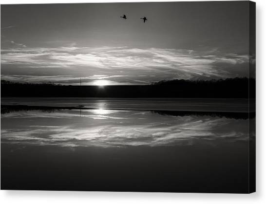 Ember Sunset Canvas Print by Diana Boyd