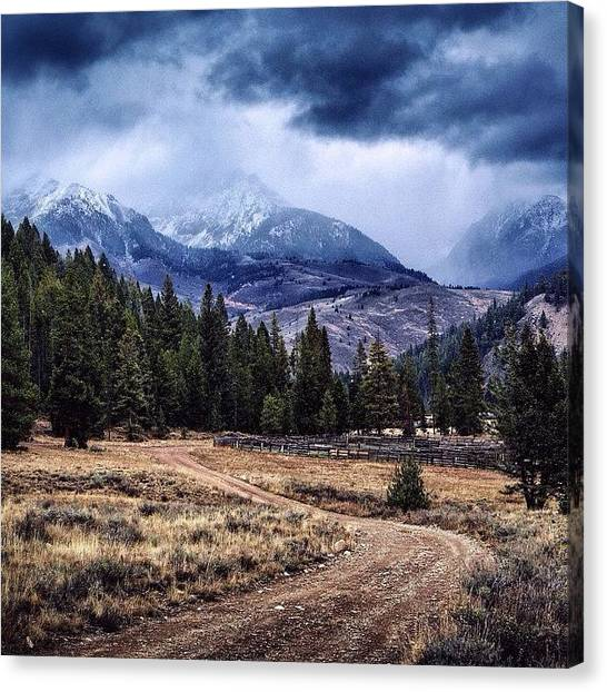 Idaho Canvas Print - Embrace That Which Defines You. #idaho by Cody Haskell