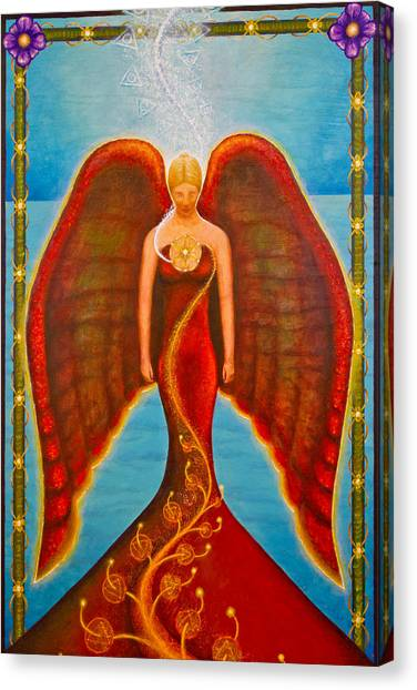 Emeliah Angel Of Inner Journeys Canvas Print