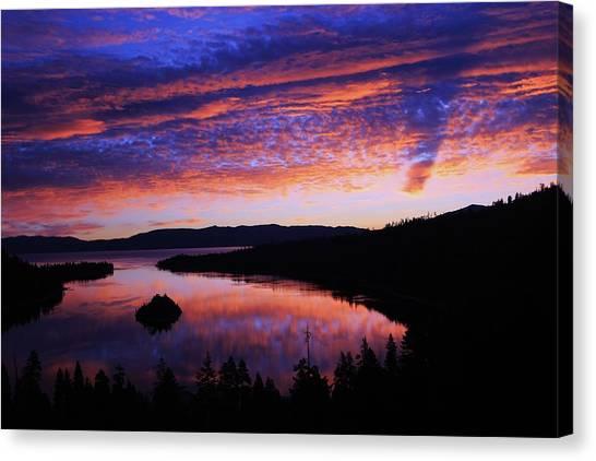 Emerald Bay Awakens Canvas Print