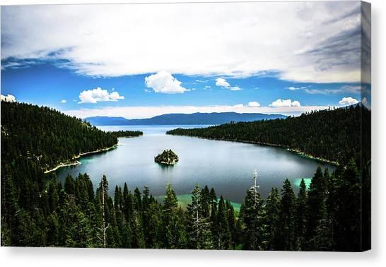 Emerald Bay, Lake Tahoe, Ca Canvas Print