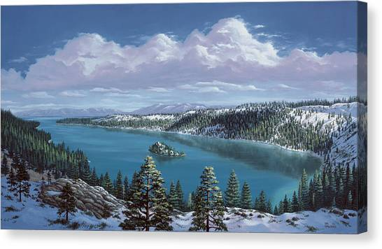 Emerald Bay - Lake Tahoe Canvas Print