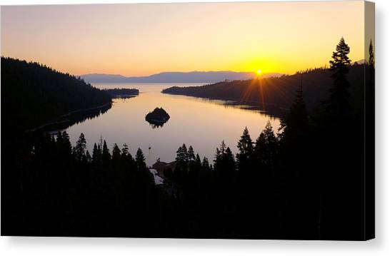 Sunrises Canvas Print - Emerald Dawn by Chad Dutson
