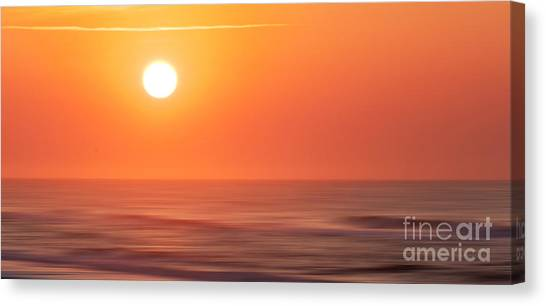 Emerald Isle Sunrise Canvas Print