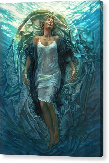 Emerge Lighter Version Canvas Print