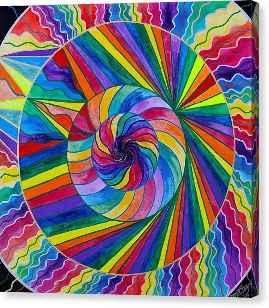 Shirt Canvas Print - Emerge by Teal Eye  Print Store