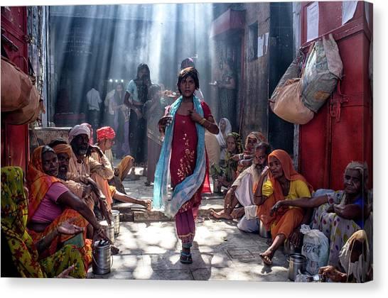 India Canvas Print - Emergence by Prateek Dubey