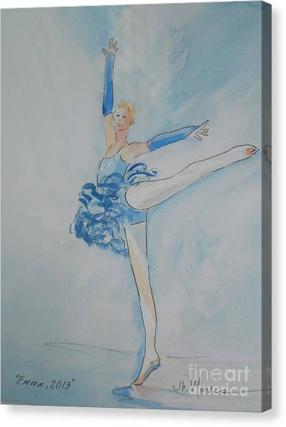 Emma Canvas Print by Jill Morris