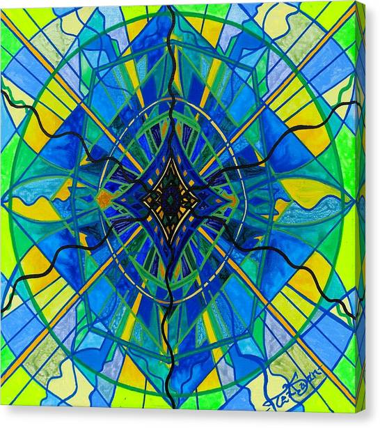 Sacred Canvas Print - Emotional Expression by Teal Eye Print Store