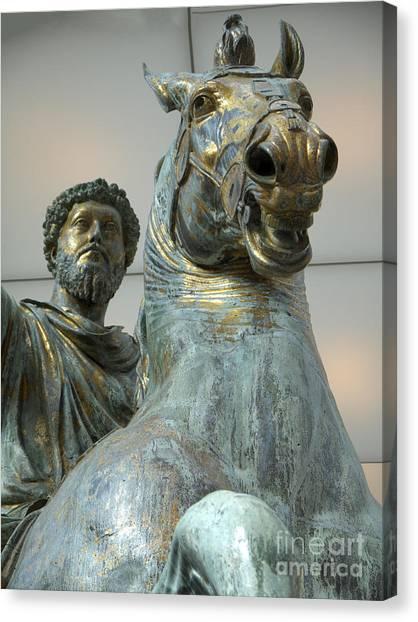 Emperor Marcus Aurelius Canvas Print