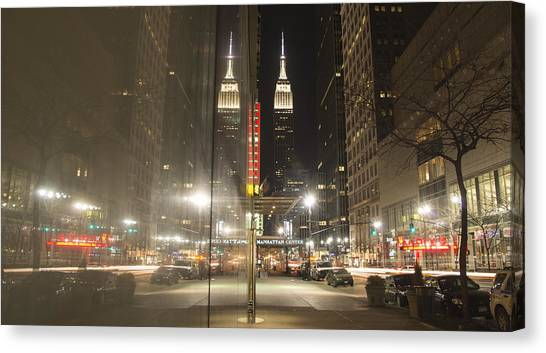 Empire Reflections Canvas Print