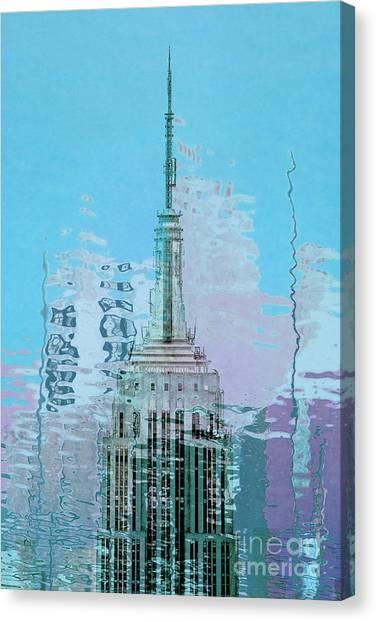 Empire Canvas Print - Empire State Building 1 by Az Jackson