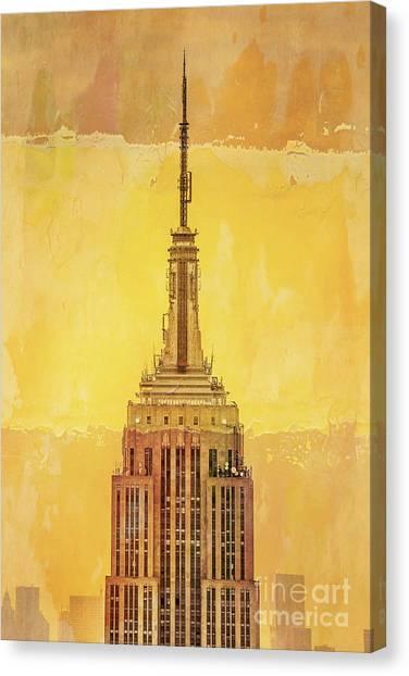 Empire Canvas Print - Empire State Building 4 by Az Jackson