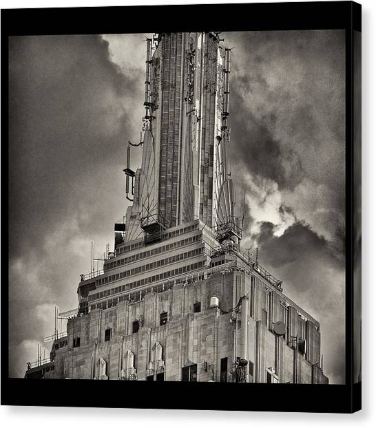 Empire State Building Canvas Print by Scott Radke