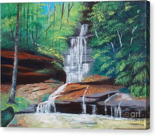 Empress Falls Australia Canvas Print