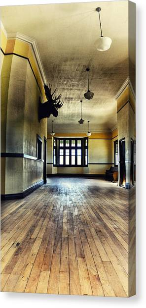 Drywall Canvas Print - Empress Train Station by Starlux  Productions