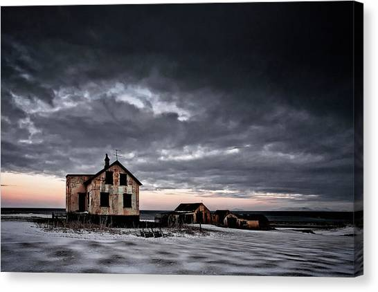 Emptiness Canvas Print by ?orsteinn H. Ingibergsson