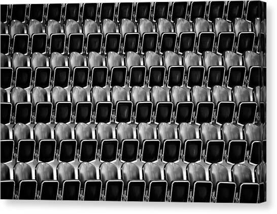 Stadiums Canvas Print - Empty Seats by Bastian Kienitz