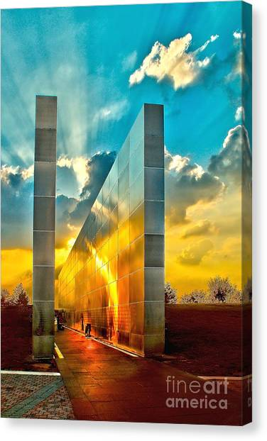 Empty Skies Sunset Canvas Print