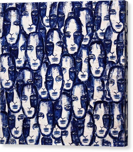 Bogdanoff Canvas Print - Empyreal Souls No. 11 by Steve Bogdanoff