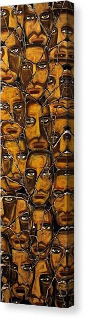 Bogdanoff Canvas Print - Empyreal Souls No. 5 - Study No. 1 by Steve Bogdanoff