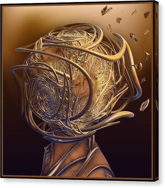 Encased In Thoughts Canvas Print