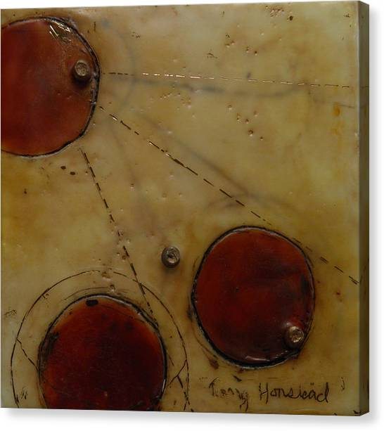 Encaustic #2 Canvas Print