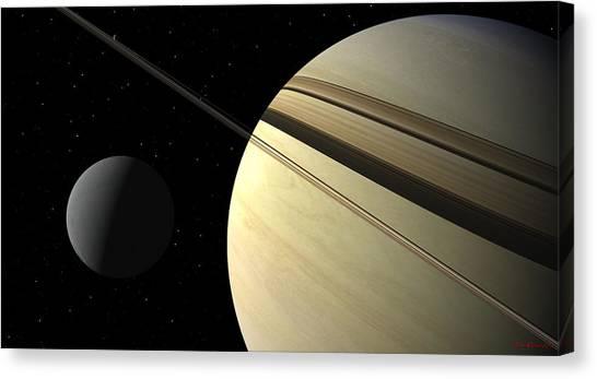 Enceladus Canvas Print