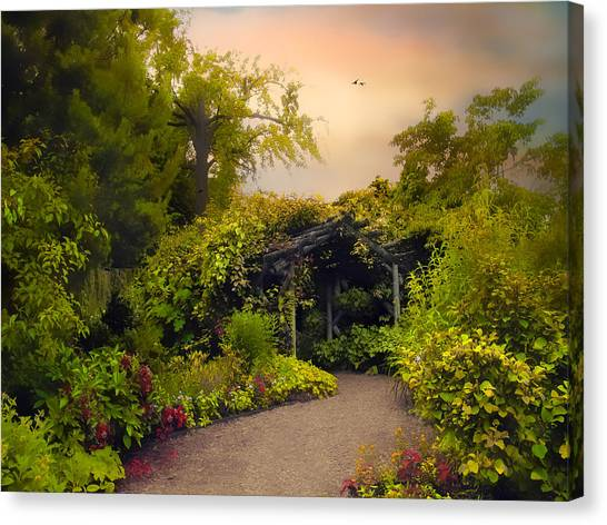 Arbor Canvas Print - Enchanted Arbor by Jessica Jenney