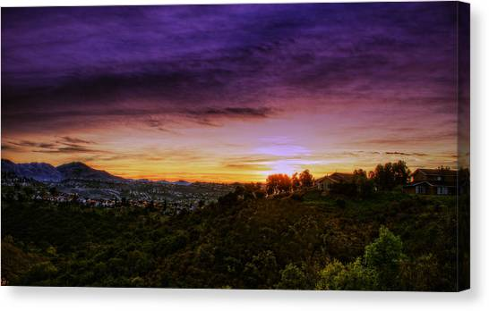 Canvas Print featuring the photograph Enchanted Morning In The Land Of Na by Jeremy McKay