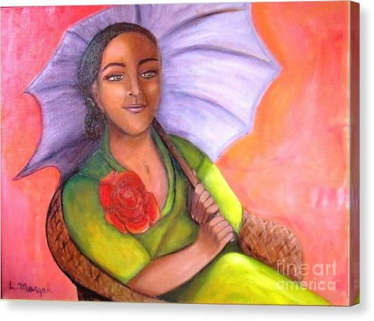 Enchanted Rose Canvas Print