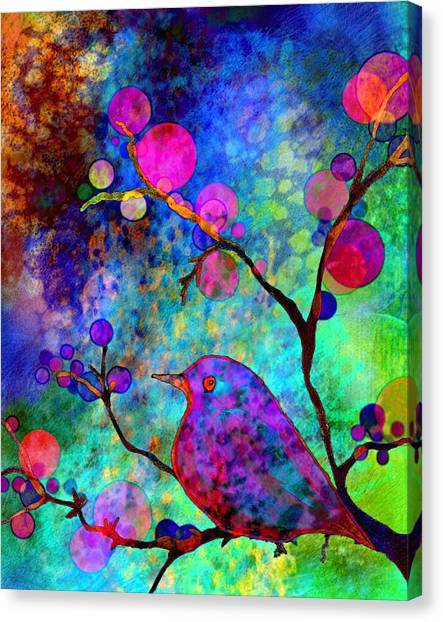 Tree Blossoms Canvas Print - Enchantment by Robin Mead