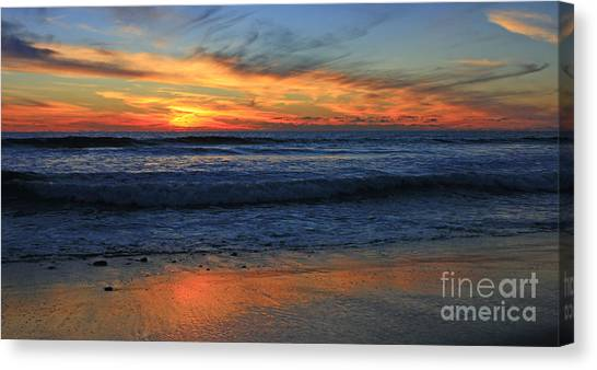 Swamis Window Canvas Print