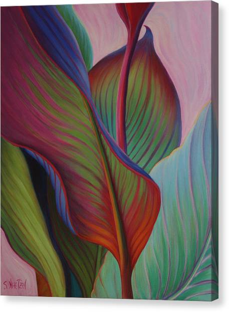 Canvas Print featuring the painting Encore by Sandi Whetzel