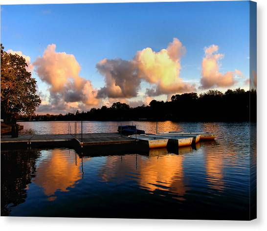 End Of A Summer Day Canvas Print