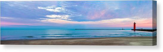 End Of The Blue Hour Canvas Print